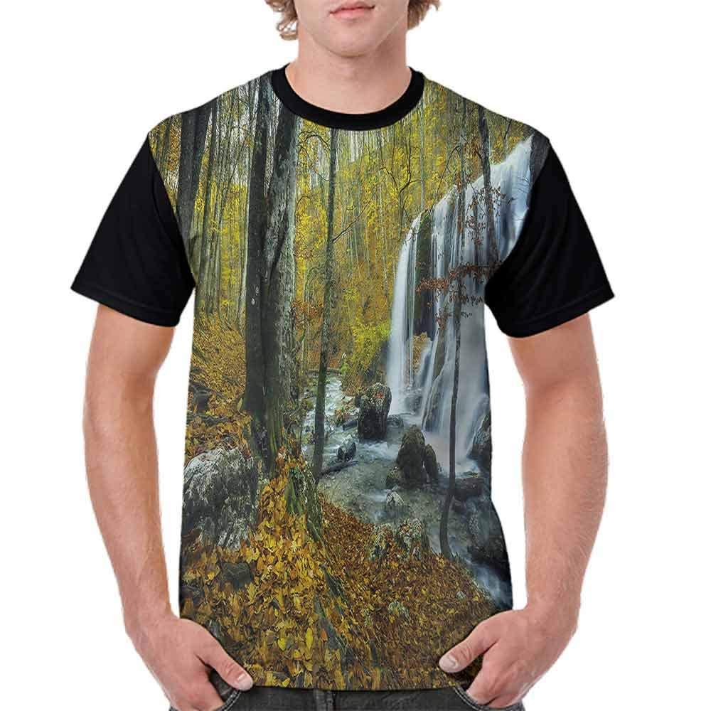 Performance T-Shirt,Cascade in Grand Canyon Fashion Personality Customization