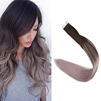 Full Shine 14 Zoll 50gram 20 Stuck Balayage Tape Extensions ...