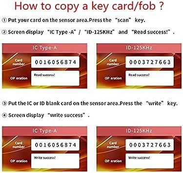 Identification RFID ID Card Access Control Copy Machine Reader Kit ...