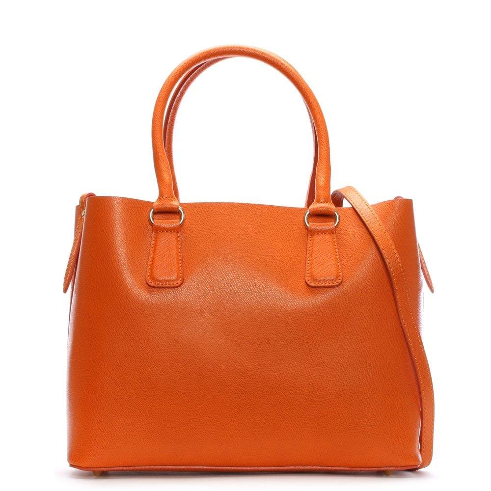 27f9901f5 Daniel Member Orange Leather Tote Bag Orange Leather: Amazon.co.uk: Shoes &  Bags
