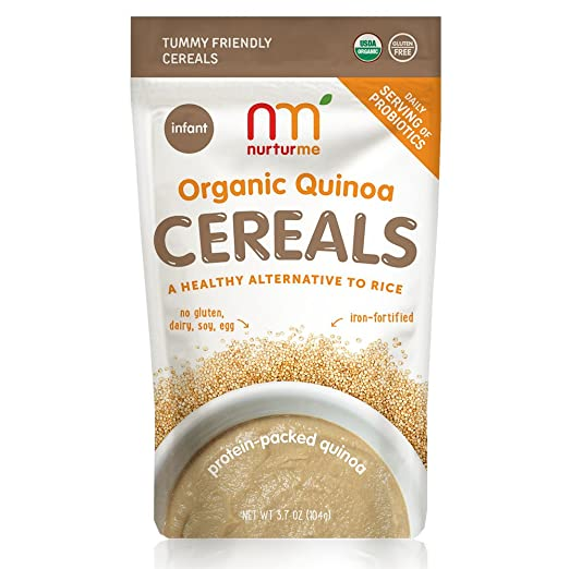 NurturMe Protein Packed Quinoa Organic Infant Cereal Review