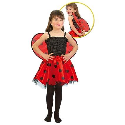 Disfraz Mariquita niña - Talla 1 - 12 meses: Amazon.es: Juguetes y ...