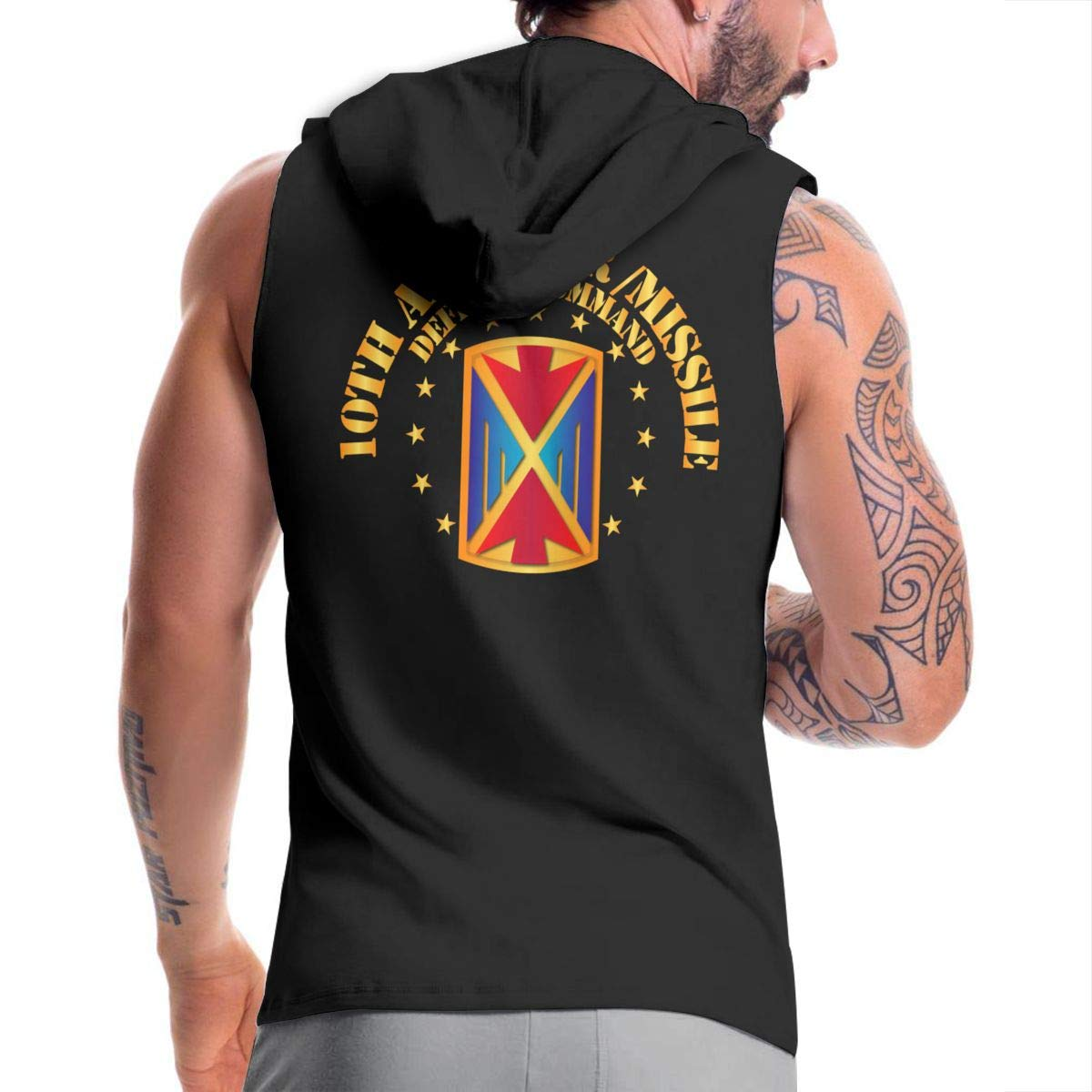 10th Army Air and Missile Defense Command Mens Hipster Hip Hop Hoodies Shirts