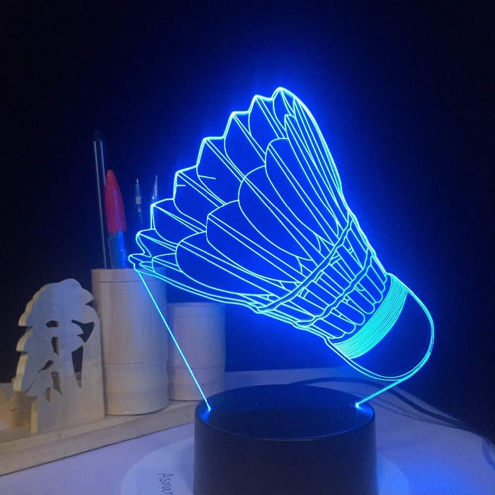 Bbdeng Luz Nocturna 3D Violin Toque De Color LED Ambiente Ahorro De Energía Y Dormir Bebé Creativo Mesa Lámpara USB Or Batería-Remote control Iluminación decorativa y para usos específicos