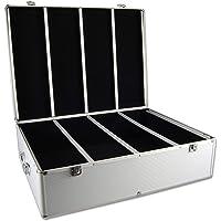 1000 Disc Aluminum CD/DVD Storage Box Case