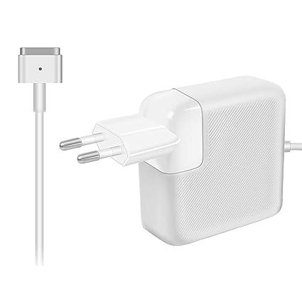 AndMore Cargador Compatible con MacBook Pro/Air 85W, Cargador MacBook, MagSafe 2 Forma de T Adaptador de Corriente Funciona con los Macbook ...