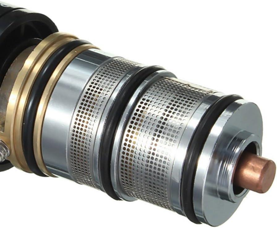 v/álvula de Control de Temperatura del Grifo Show Cuprum Kit de Cartucho de reparaci/ón de Mango CVERY Grifo Mezclador termost/ático para v/álvula de Ducha