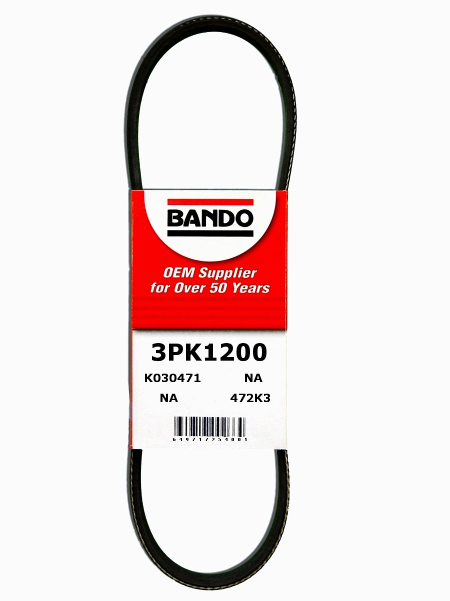 Bando 3PK1200 OEM Quality Serpentine Belt