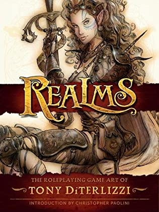 book cover of Realms: The Roleplaying Art of Tony Diterlizzi