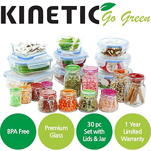 Kinetic 11475 Go Green Glassworks Elements Series 30 Piece S