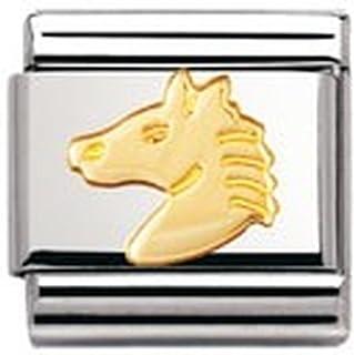 Nomination 030112 - Link da donna, acciaio inossidabile