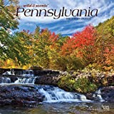 Pennsylvania Wild & Scenic 2020 12 x 12 Inch Monthly Square Wall Calendar, USA United States of America Northeast State Nature