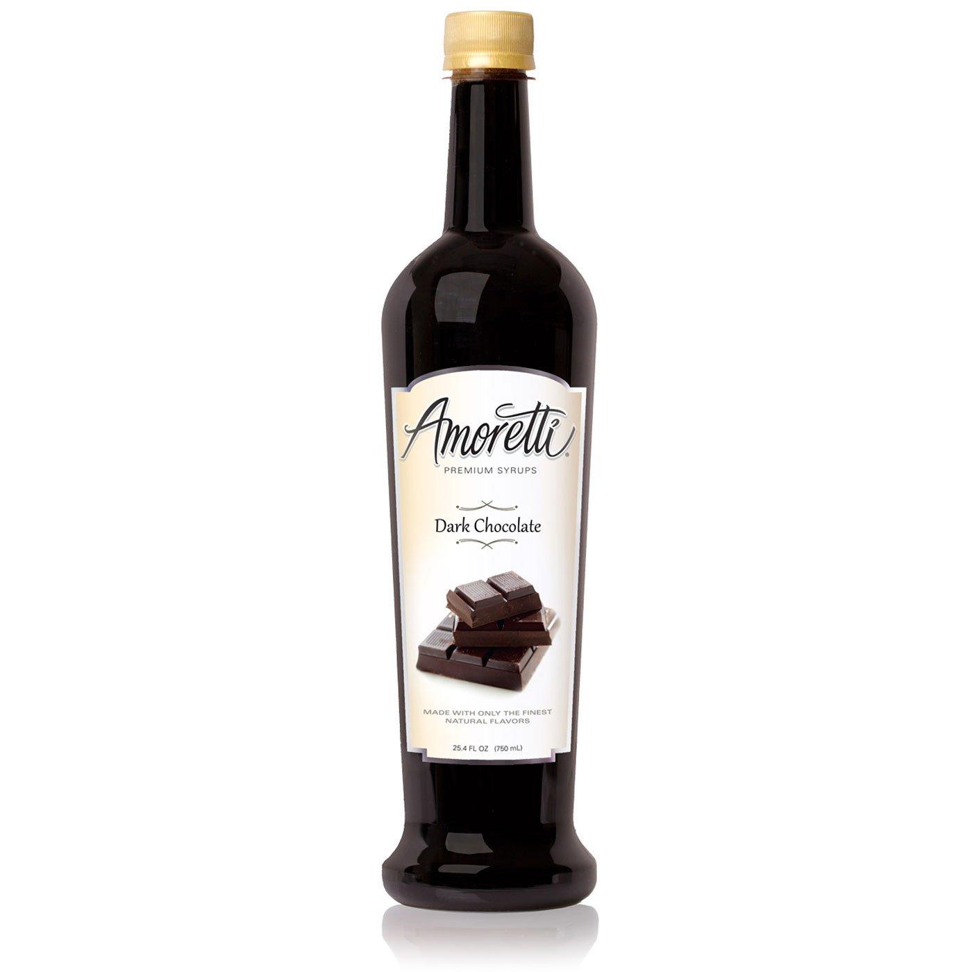 Amoretti Premium Syrup, Dark Chocolate, 25.4 Ounce: Amazon.es: Alimentación y bebidas