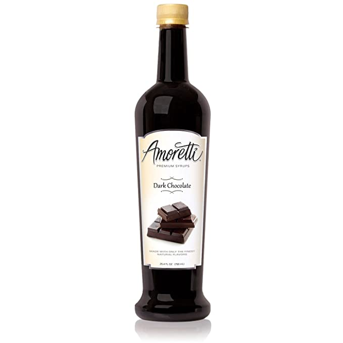 Amoretti Premium Syrup, Dark Chocolate, 25.4 Ounce