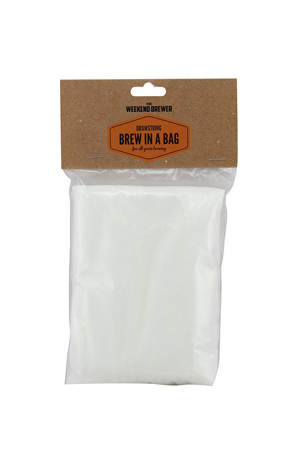 Extra Large (26'' x 22'') Reusable Drawstring Straining Brew in a Bag by The Weekend Brewer