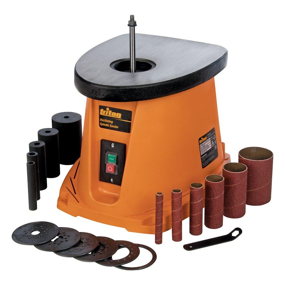 Triton 516693 - Lijadora de husillo oscilante 450 W (TSPS450) Silverline Tools Ltd