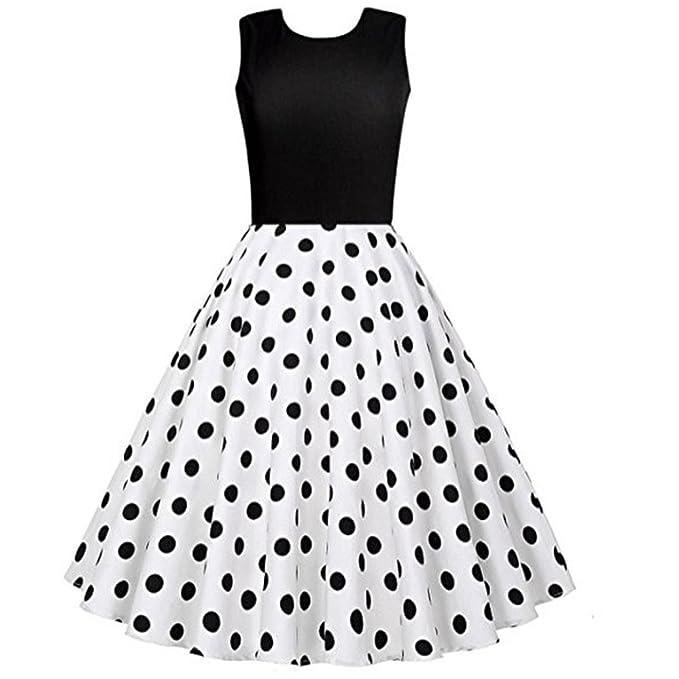Abendkleider Damen,Hevoiok Casual Formal Partykleid Vintage Sexy ...