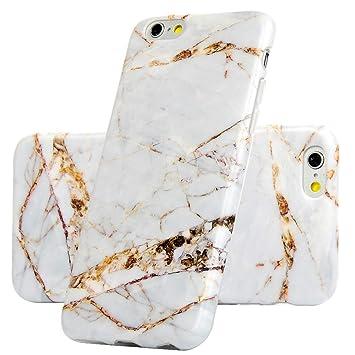 VoguSaNa - Carcasa de mármol para iPhone 6S, de Silicona ...