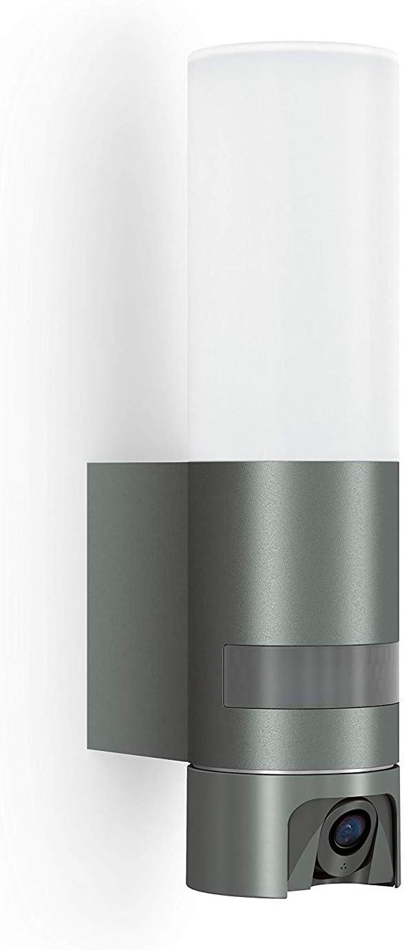 Steinel - Cámara con luz: lámpara de exterior, interfono, cámara ...