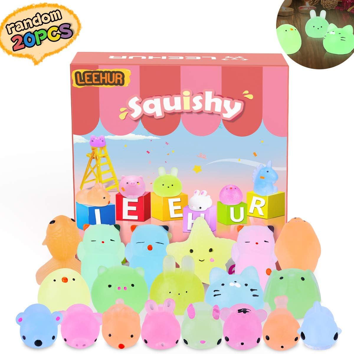 Mini Squishy Fluorescentes Kawaii Squishys Lindos Juguete Suave de ...