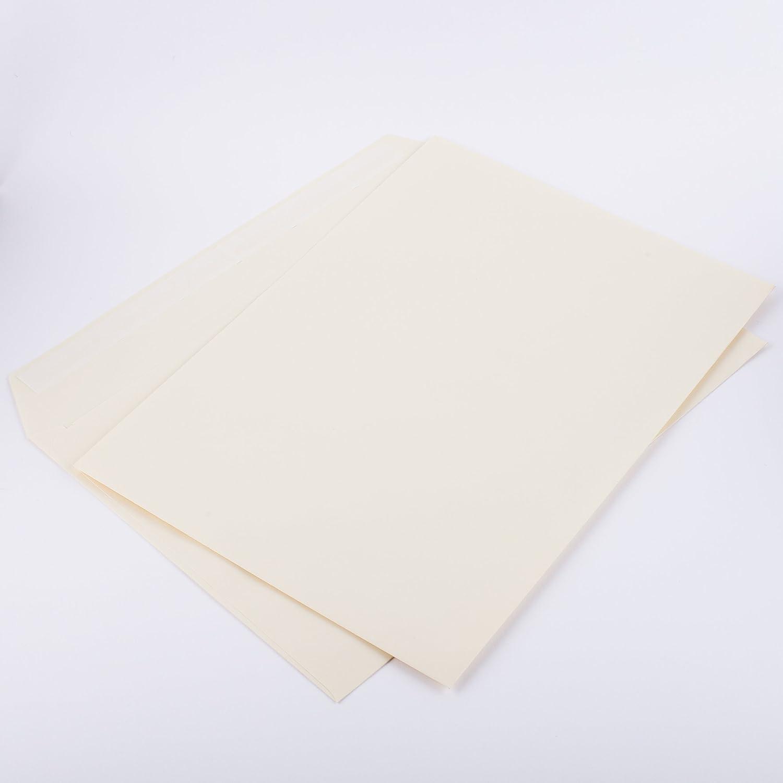 100/Buste formato C5/162/X 229/mm colore Articolo: 3120/a avorio 120/G//M/² senza finestra Haftklebend