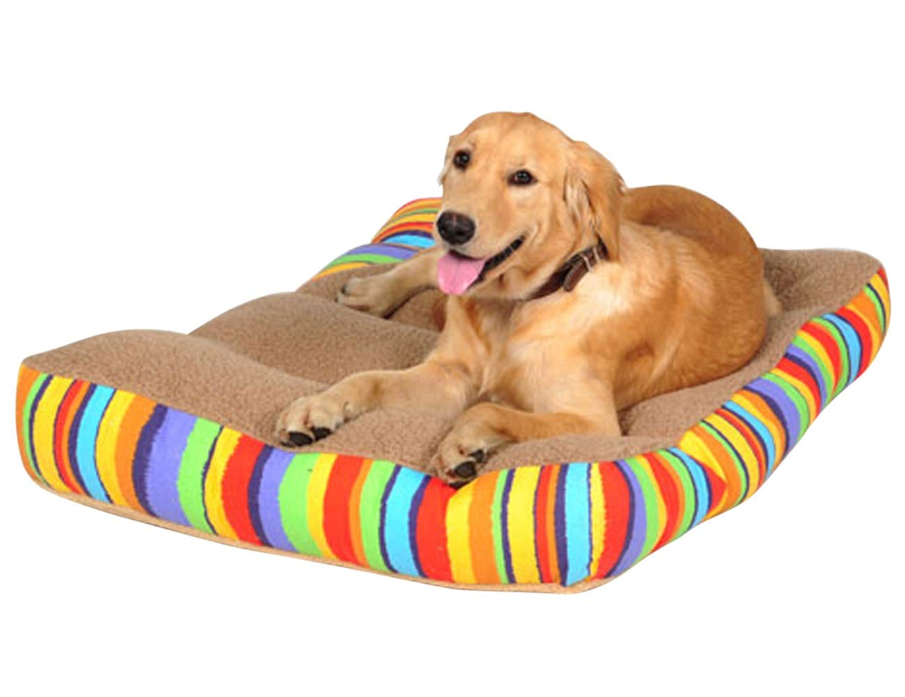 M Preferhouse Pet Dog Bed for Small Medium Large Dogs Cats 29.5L x 19.7W x 4.7H Inch