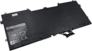 efohana C4K9V Laptop Battery Replacement for DELL XPS 12 Ultrabook 12 9Q33 13 9333 12-L221x 12D-1708 Series Notebook 3H76R 489XN PKH18 7.4V 55Wh 7290mAh 6-Cells