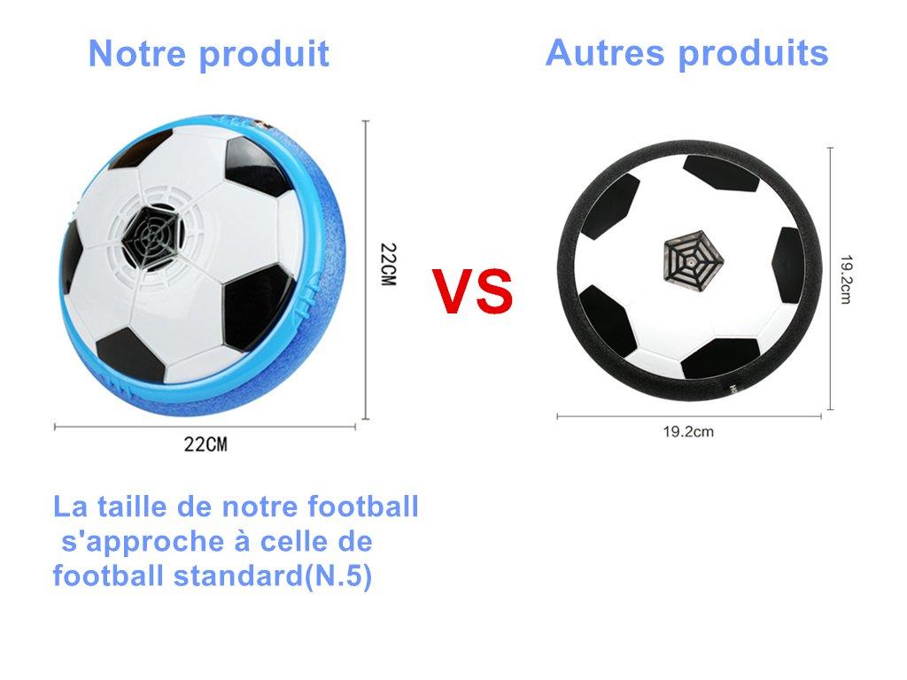 Air Hover Ball Fútbol Interior Hover Disco Niños Aire Fútbol Niños ...