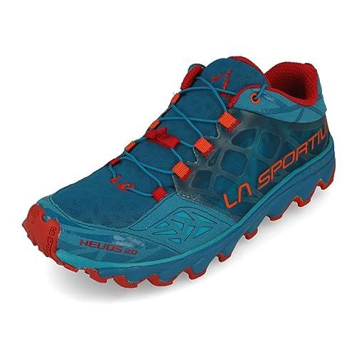 La Sportiva Men s s Helios 2.0 Trail Running Shoes Blue  Amazon.co ... 81eb4836b77