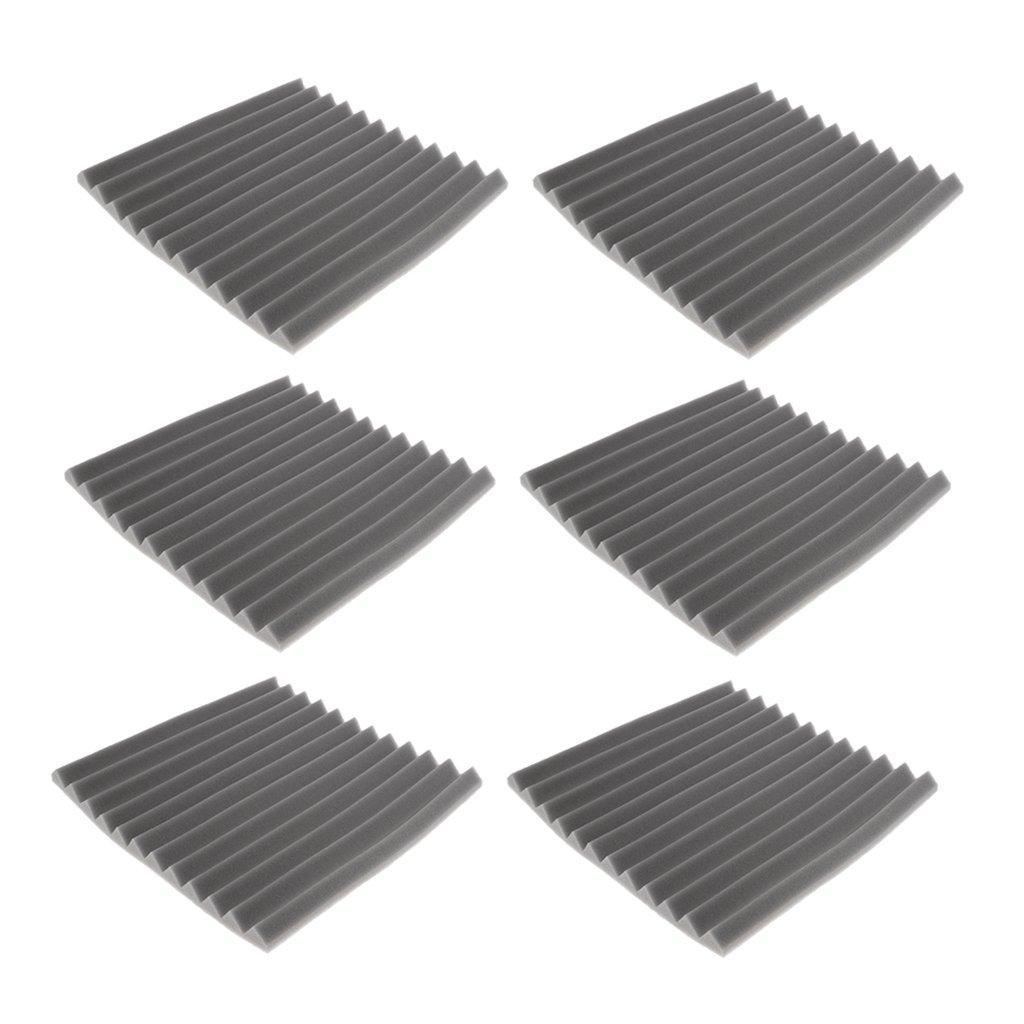 Homyl 6 Pcs Panel de Esponja Amortiguadora Ruido Aislamiento ...