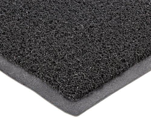 Durable DuraLoop Indoor/Outdoor Entrance Mat, 2' x 3', Black