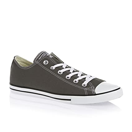 0896f3c0c7c Image Unavailable. Image not available for. Color  Converse Chuck Taylor  All Stars Lean Shoes UK 3 Charcoal