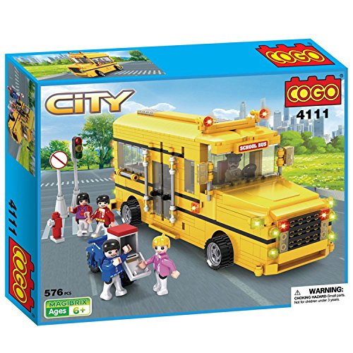 cogo-city-long-nose-school-bus-yellow-truck-car-vehicle-educational-toys-building-play-set-kit-for-k