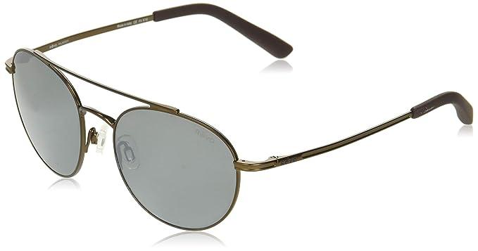 ae1ef5fec8 Amazon.com  Revo Unisex Unisex RE 1045 Helix Round Crystal Lenses Polarized  Sunglasses  Clothing
