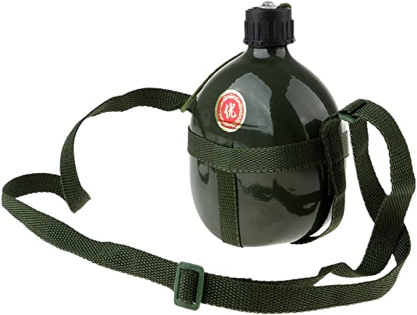 perfeclan Botella De Agua Militar Al Aire Libre Recipiente ...