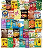 Ultimate Premium Healthy Chips & Snacks Care Package Variety Pack by Variety Fun (Care Package 35 Count)