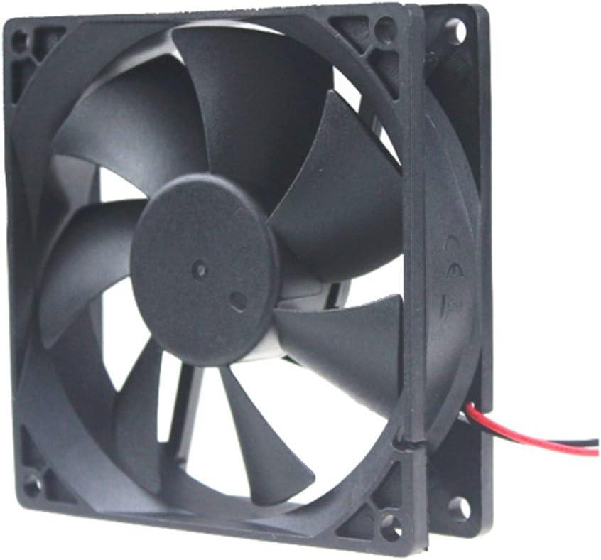 92 mm x 92 mm x 25 mm 24 V 0,1 A 9225 Axial Flujo sin escobillas Caso de refrigeración ventilador para PC Ordenador Cooler