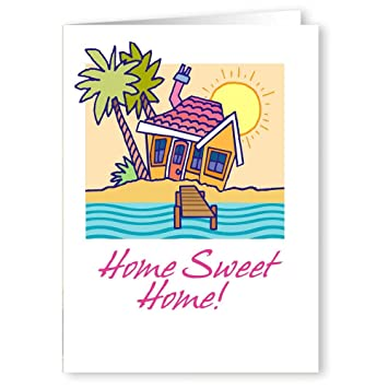 Amazon personalized home sweet home new address card pack 36 personalized home sweet home new address card pack 36 cards and envelopes m4hsunfo