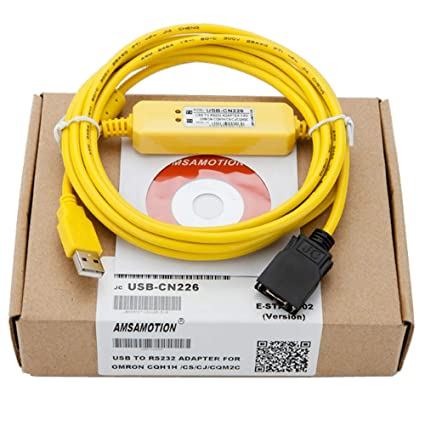 CS1W-CN226 RS232 PLC Cable For OMRON CS//CJ,CQM1H,CPM2C series programming cable
