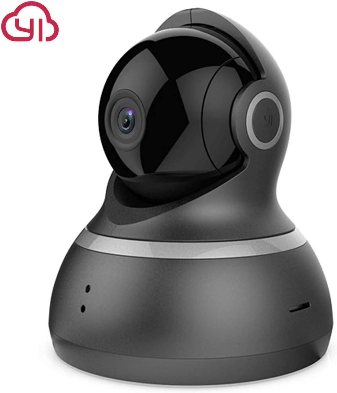 1080p HD Indoor Pan//Tilt//Zoom Wireless IP Security Surveillance YI Dome Camera