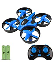 JoyGeek Mini Drone for Kids, RC Quadcopter 360 UFO Remote Control Helicopter with 2.4G 4CH 6 Axis Headless Mode One Key Return Flying Toys for Boys Girls