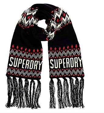 suchen Finden Sie den niedrigsten Preis Outlet-Store Superdry Damen G93032YP Schal, Blau (Navy ...