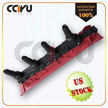 CCIYU New Ignition Coil UF422 55561132 9134404 9167016 9178955 1482102 55561132 Cassette Pack Red for 99