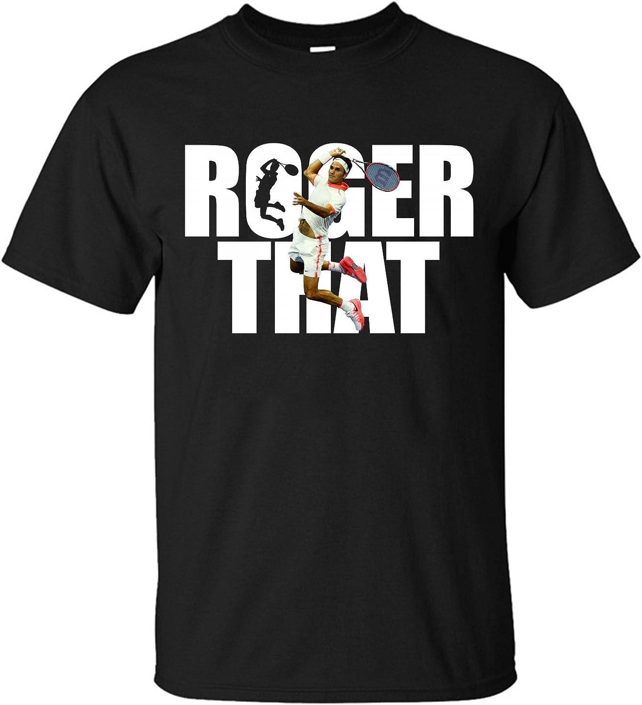 Particular Roger Federer T-Shirts for Men Black