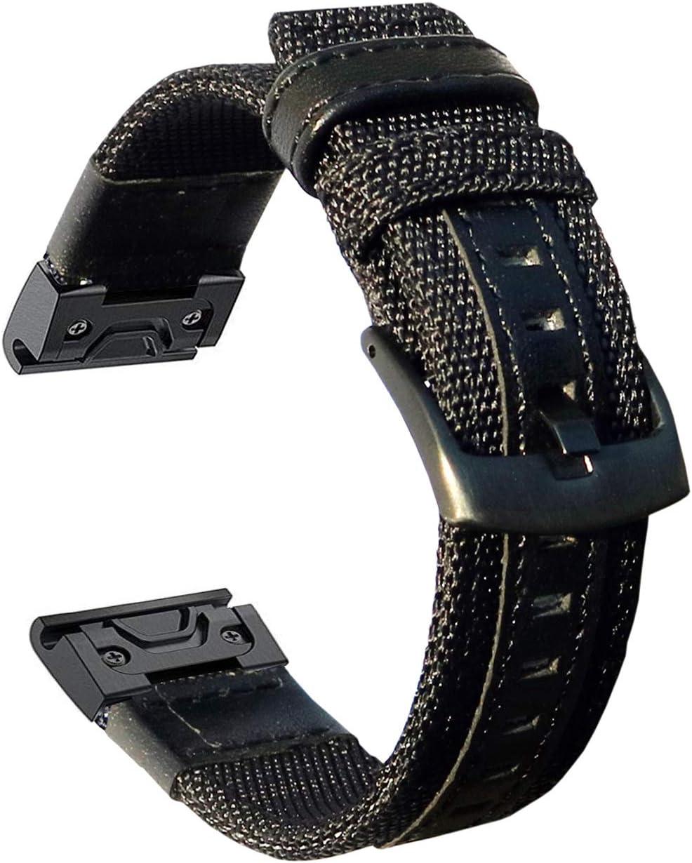Malla para reloj Fenix 6X Pro/5X/5X Plus/Fenix 3/Quatix 3