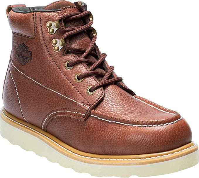 dea11164868 Harley-Davidson Men's Bosworth Black or Brown Casual Work Boots D93571  D93572