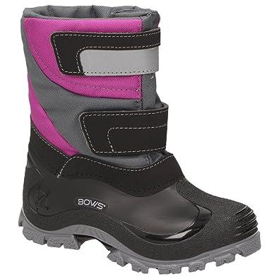 c5d352de6abdf6 BOWS® -MIKA- Jungen Mädchen Winter Stiefel Schnee Boots Unisex Kinder Schuhe  Warmfutter wasserabweisend