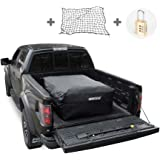 MARKSIGN 100% Waterproof Truck Cargo Bag with Net, Fits Any Truck Size, 4 Rubber Handles, 26 Cubic Feet (51''x40''x22…