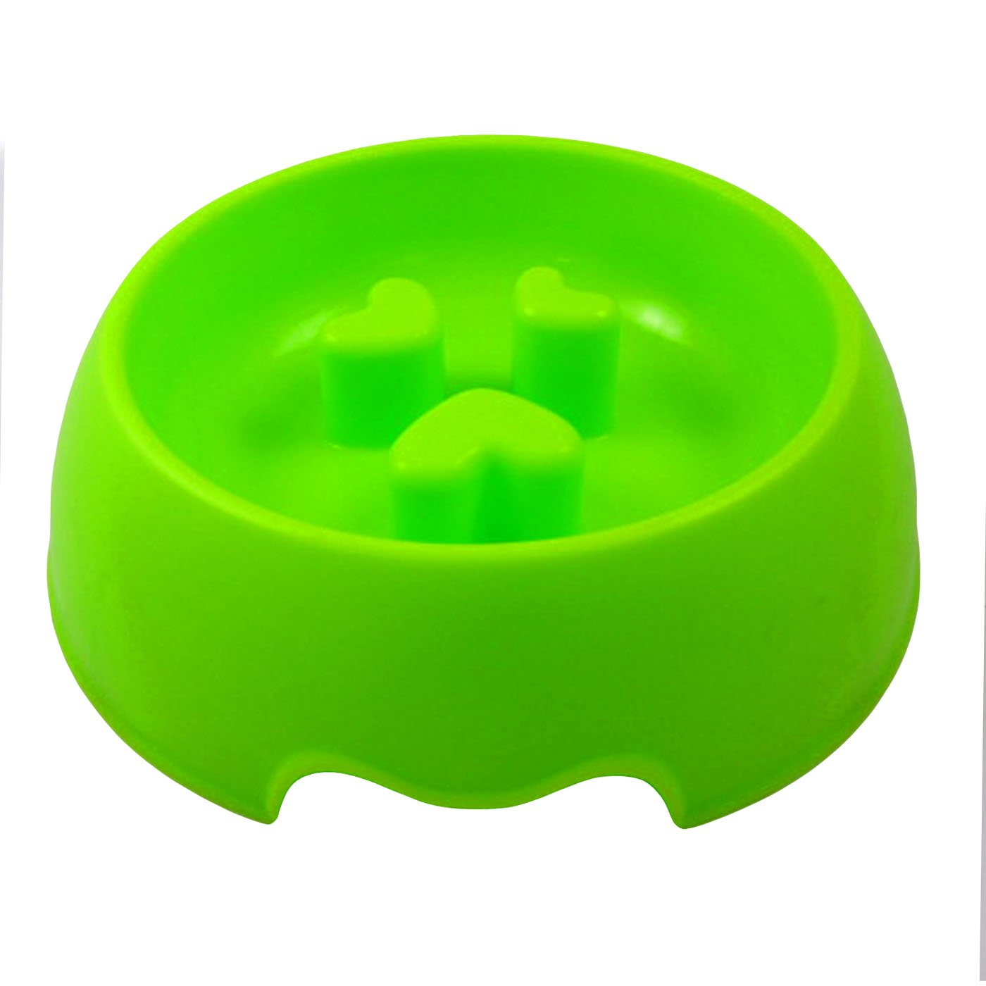 Alfie Pet by Petoga Couture - Sol Slow-Eating Anti-Gulping Pet Food Bowl (for Dogs & Cats) - Size: Medium