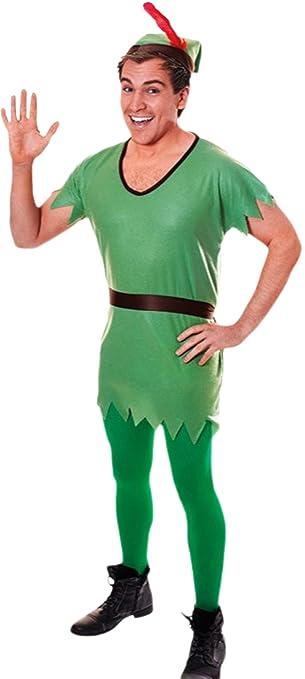 Karnevalsbud Herren Karneval The Lost Boys Peter Pan Kostüm Set